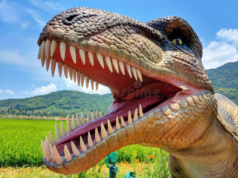 Περιοχή δεινοσαύρων αστεριών της Κίνας στοκ φωτογραφίες