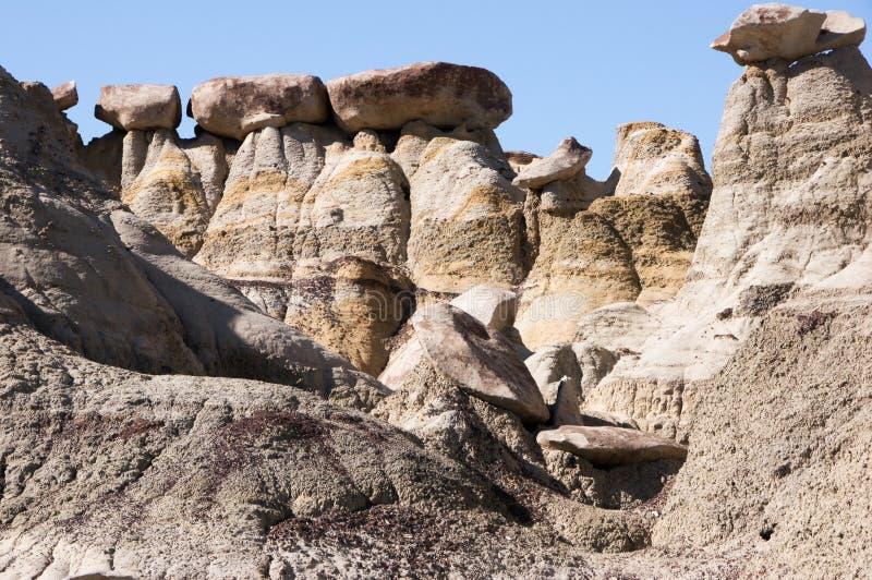 Περιοχή μελέτης αγριοτήτων ah-Shi-Sle-Pah, Νέο Μεξικό, ΗΠΑ στοκ φωτογραφία με δικαίωμα ελεύθερης χρήσης