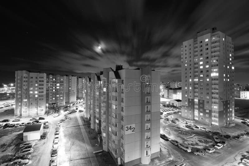 Περιοχή νύχτας στοκ εικόνα