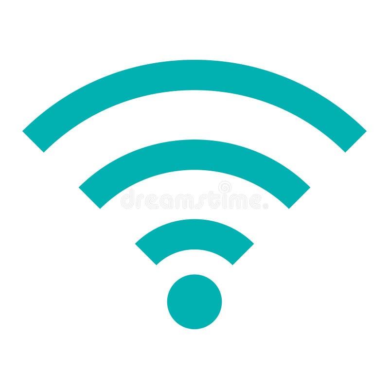 Περιοχή σημάτων wifi κυμάτων απεικόνιση αποθεμάτων