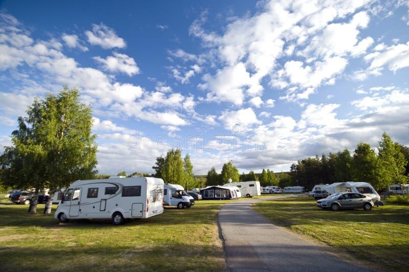 περιοχή στρατόπεδων στοκ φωτογραφία με δικαίωμα ελεύθερης χρήσης