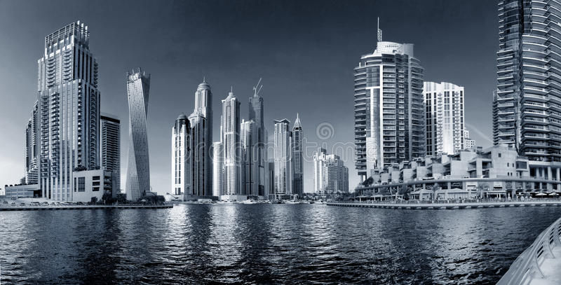 Περιοχή του Ντουμπάι - της μαρίνας του Ντουμπάι στοκ φωτογραφία