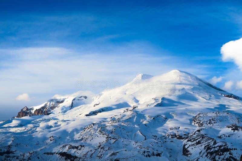 Περιοχή Elbrus, ένα τοπίο βουνών στην περιοχή Καύκασου, Elbrus στοκ εικόνες με δικαίωμα ελεύθερης χρήσης