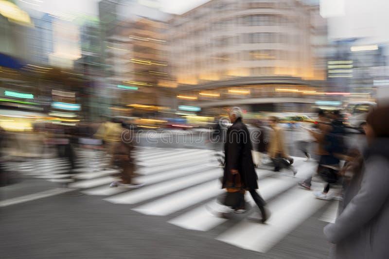 Περιοχή Ginza, Τόκιο - Ιαπωνία στοκ φωτογραφία