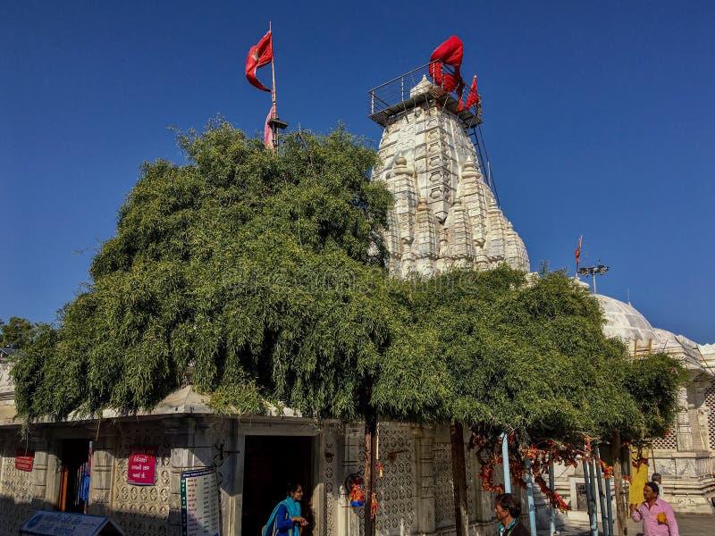Περιοχή Gujarat, Ινδία Mehsana ναών Becharaji ή Bahucharaji στοκ φωτογραφία με δικαίωμα ελεύθερης χρήσης