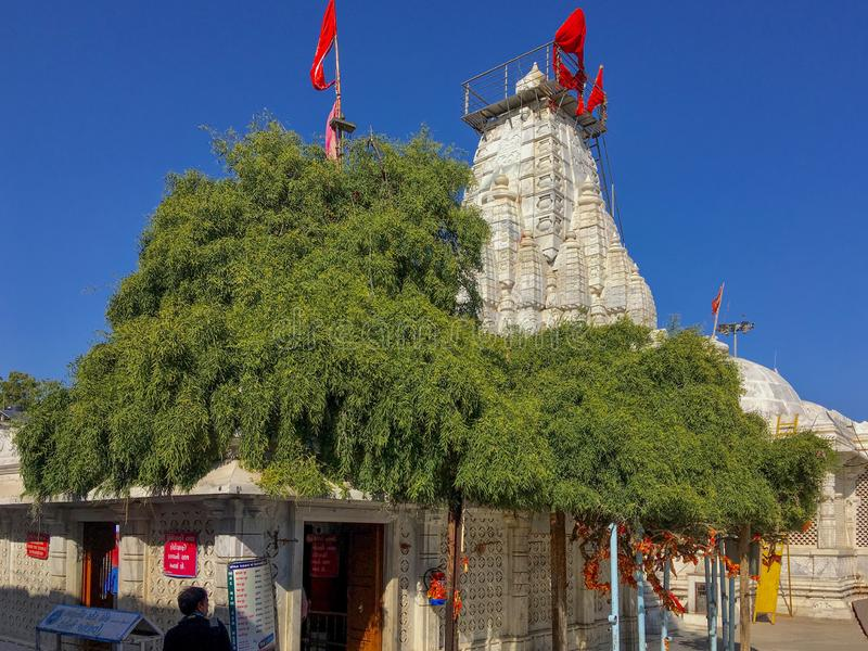 Περιοχή Gujarat, Ινδία Mehsana ναών Becharaji ή Bahucharaji στοκ φωτογραφία