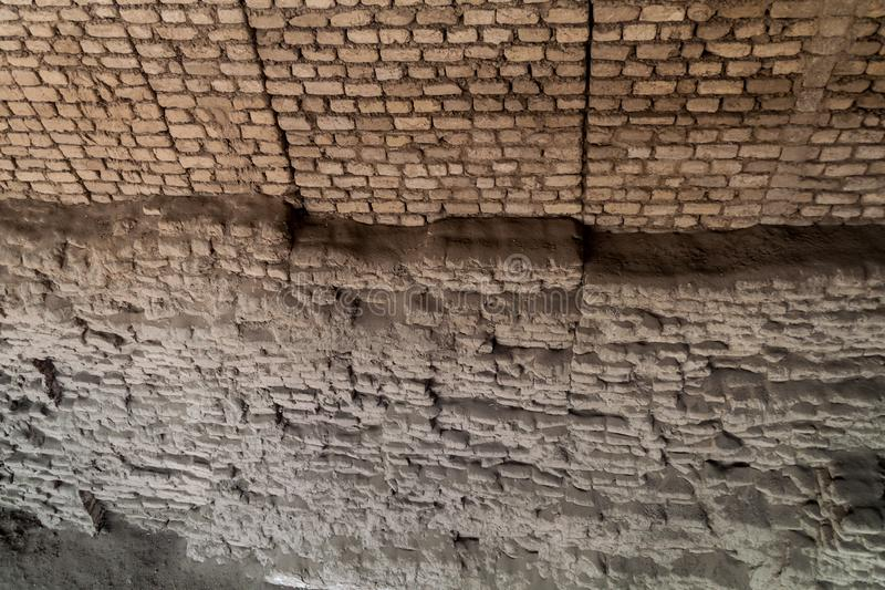 Περιοχή Huaca del Sol Υ de Λα Luna Archeological στοκ φωτογραφία με δικαίωμα ελεύθερης χρήσης
