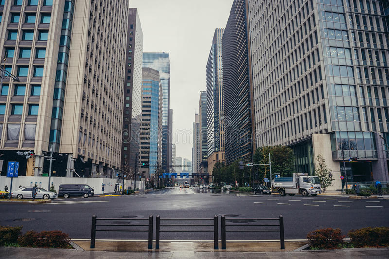 Περιοχή Marunouchi στο Τόκιο στοκ φωτογραφίες με δικαίωμα ελεύθερης χρήσης