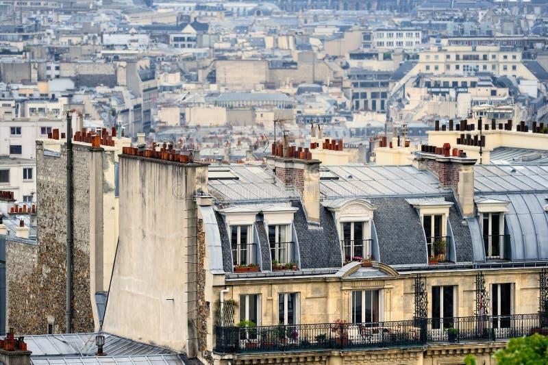 Περιοχή Montmartre στοκ εικόνες με δικαίωμα ελεύθερης χρήσης