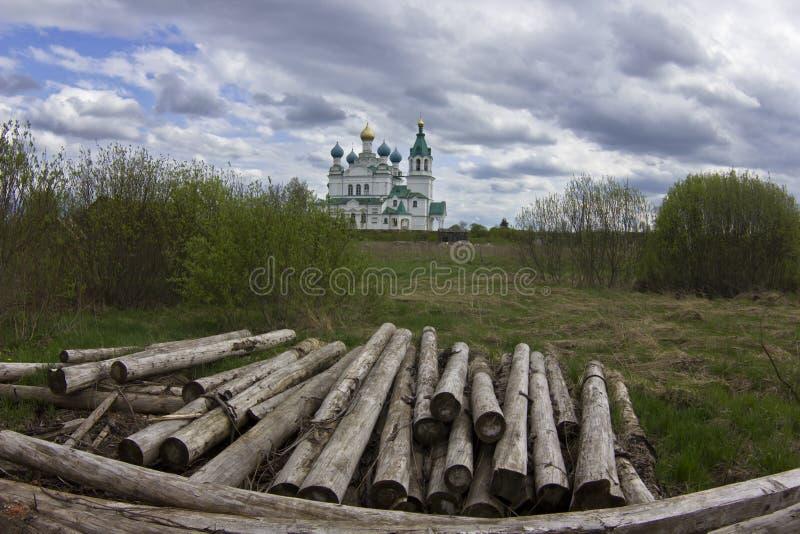 Περιοχή Novgorod, Ρωσική Ομοσπονδία στοκ εικόνα