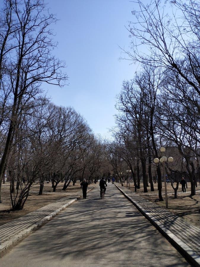 Περιοχή tiexi Shenyang; στοκ φωτογραφίες