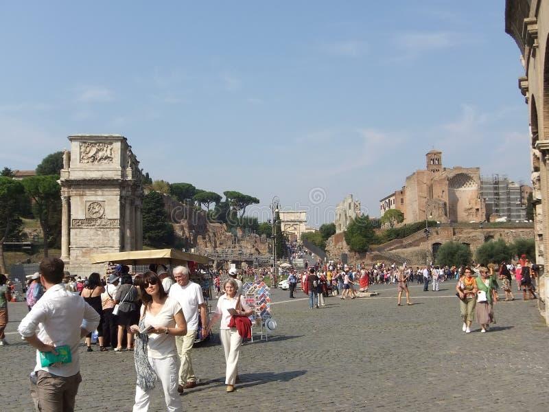 Περιοδεύοντας Ρώμη στοκ φωτογραφίες
