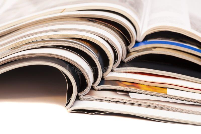 Περιοδικά χρώματος στοκ εικόνες