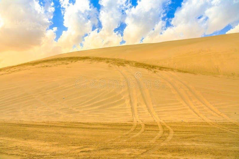 Περιπέτεια σαφάρι ερήμων στοκ φωτογραφία