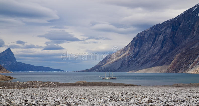 Περιπέτεια της Γροιλανδίας στοκ εικόνα με δικαίωμα ελεύθερης χρήσης
