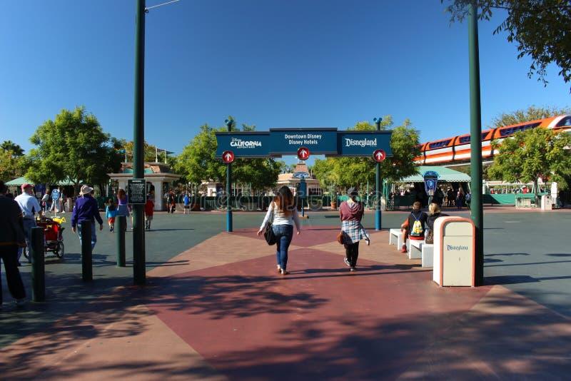 Περιπέτεια Disneyland εισόδων στοκ φωτογραφία με δικαίωμα ελεύθερης χρήσης