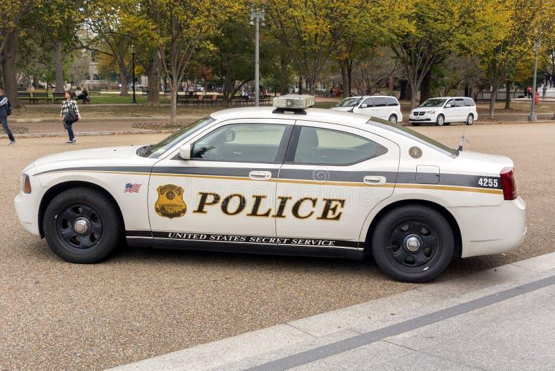 Περιπολικό της Αστυνομίας Ηνωμένης Μυστικής Υπηρεσίας στοκ φωτογραφίες