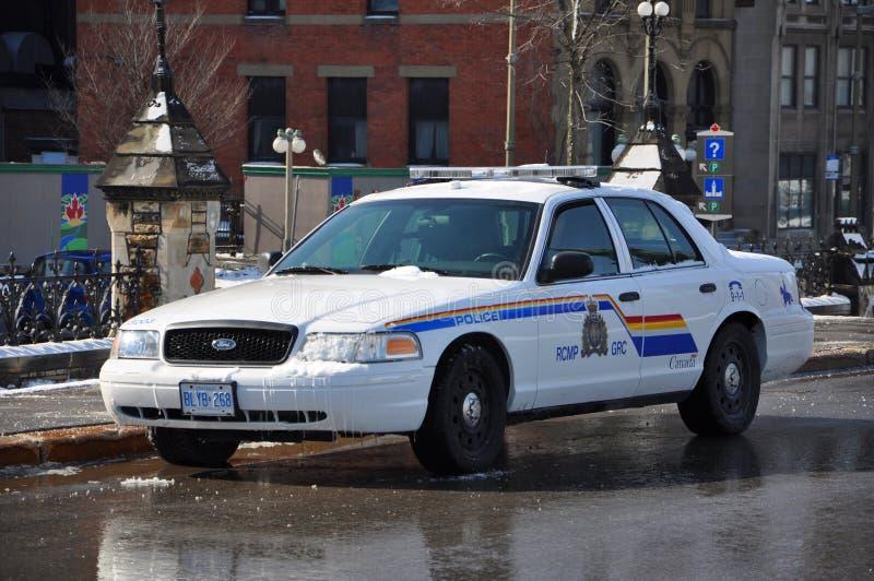 Περιπολικό της Αστυνομίας Βικτώριας κορωνών RCMP Ford στην Οττάβα, Καναδάς στοκ φωτογραφίες