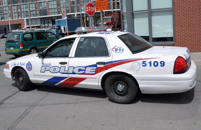 Περιπολικό της Αστυνομίας του Τορόντου στοκ εικόνες