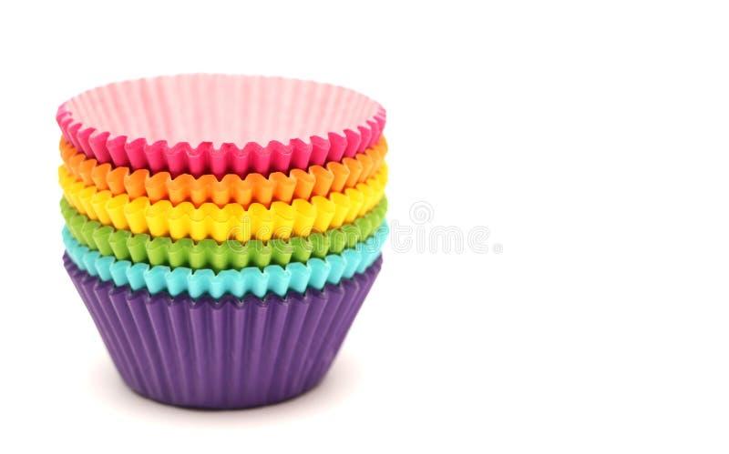 Περιπτώσεις Cupcake στοκ φωτογραφία με δικαίωμα ελεύθερης χρήσης