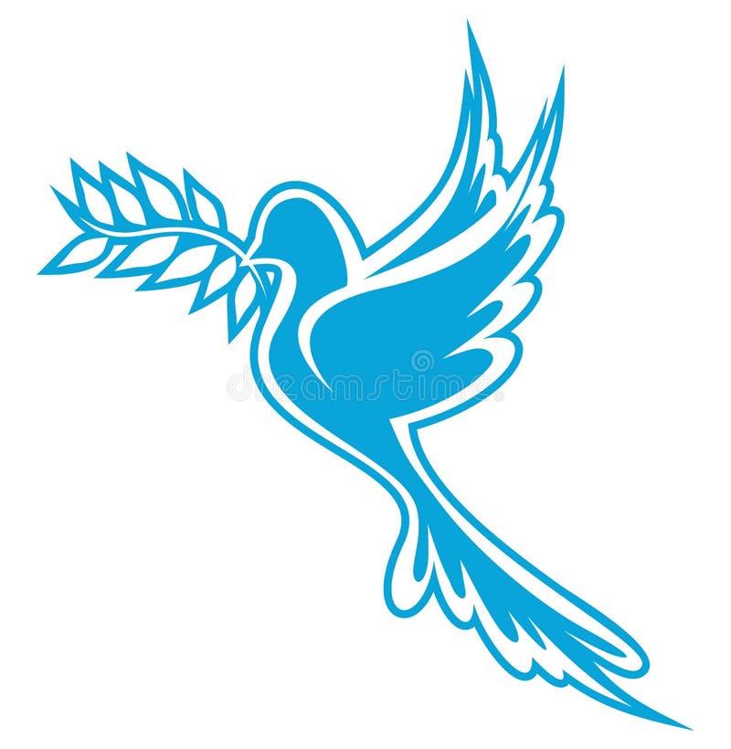 Περιστέρι της ειρήνης ελεύθερη απεικόνιση δικαιώματος