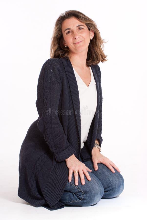 περιστασιακή γυναίκα στοκ εικόνα με δικαίωμα ελεύθερης χρήσης