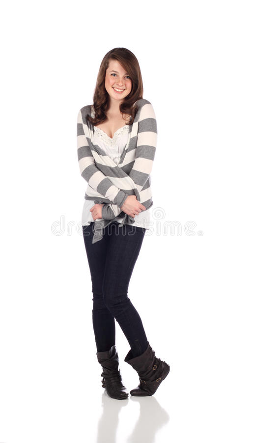 περιστασιακός έφηβος στοκ εικόνα με δικαίωμα ελεύθερης χρήσης