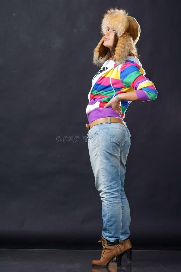 περιστασιακό κορίτσι στοκ εικόνες