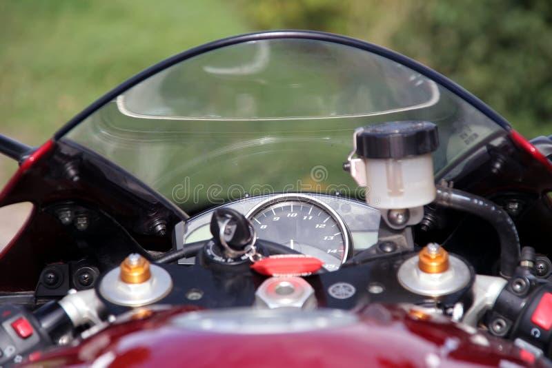 περιστροφή/λεπτό moto στοκ φωτογραφία