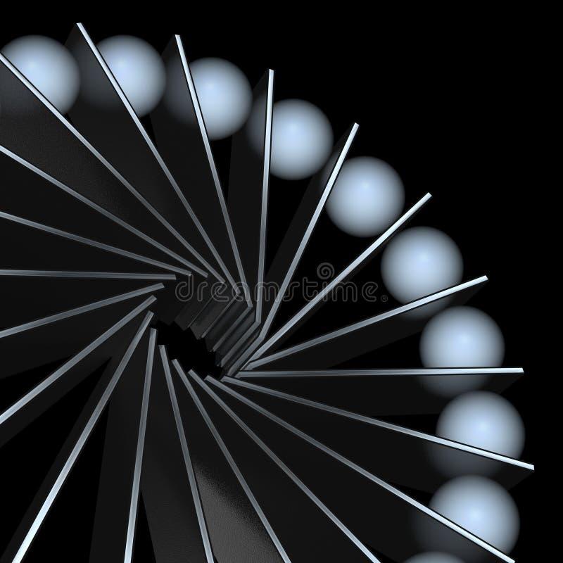 περιστροφή διανυσματική απεικόνιση