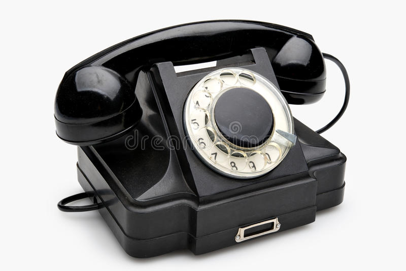περιστροφικός τηλεφωνι&ka στοκ φωτογραφίες