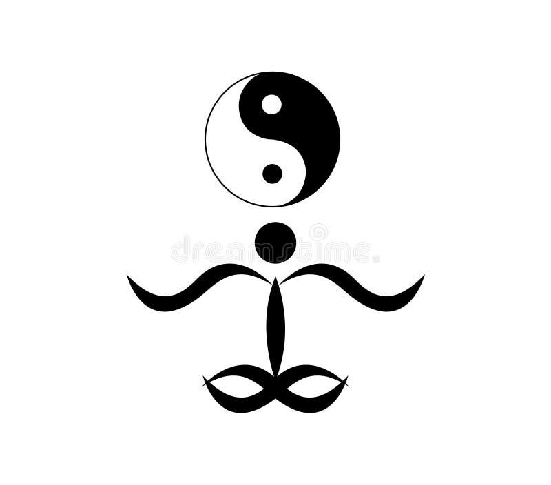 Περισυλλογή και zen γραφικός ελεύθερη απεικόνιση δικαιώματος