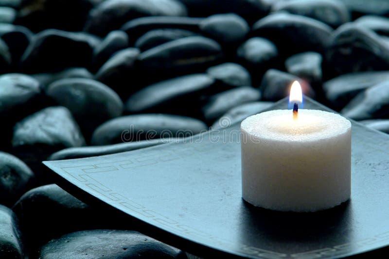 περισυλλογή κεριών καψί&mu στοκ εικόνα με δικαίωμα ελεύθερης χρήσης