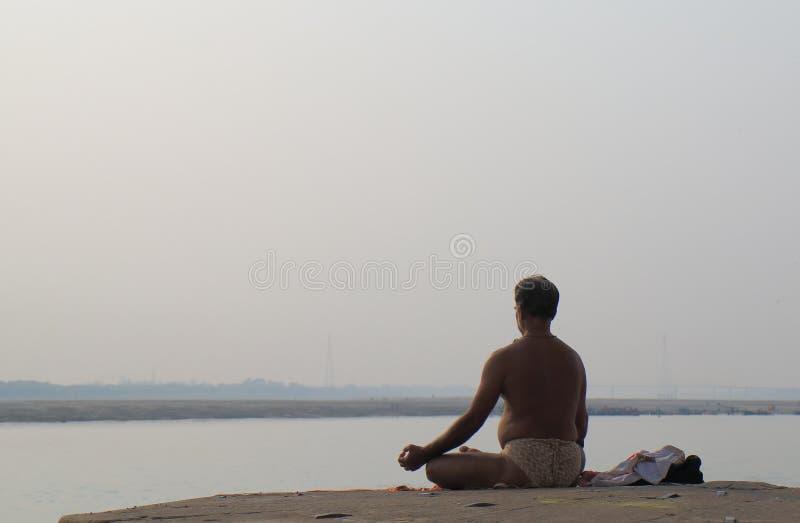 Περισυλλογή Varanasi Ινδία ποταμών του Γάγκη στοκ φωτογραφίες