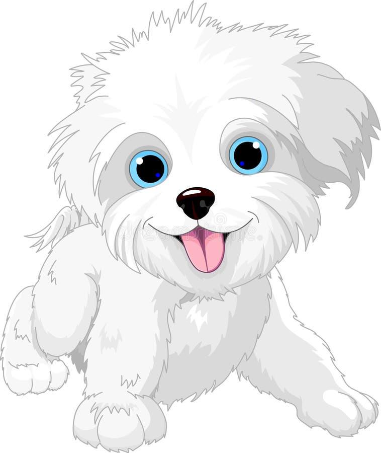 περιτύλιξη σκυλιών εύθυμη διανυσματική απεικόνιση