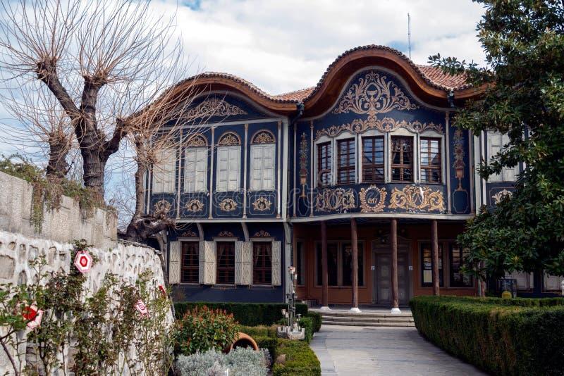 Περιφερειακό εθνογραφικό μουσείο Plovdiv, Βουλγαρία στοκ εικόνα