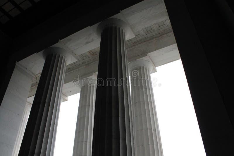 Περιφερειακό μνημείο ανώτατων ορίων και του Λίνκολν στηλών στοκ φωτογραφία με δικαίωμα ελεύθερης χρήσης