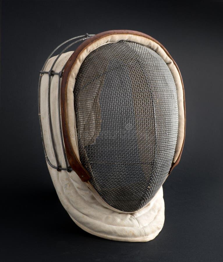Περιφράζοντας μάσκα σε ένα μαύρο υπόβαθρο στοκ φωτογραφία με δικαίωμα ελεύθερης χρήσης