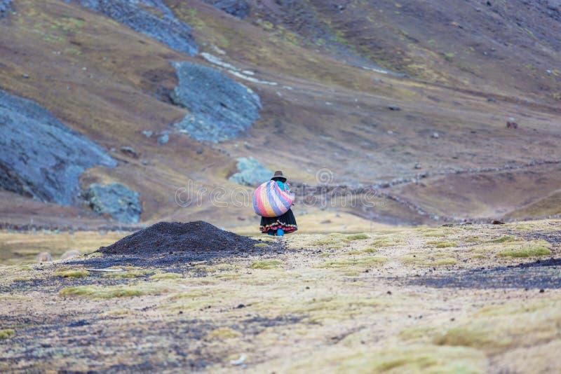 Περουβιανοί λαοί στοκ φωτογραφία με δικαίωμα ελεύθερης χρήσης