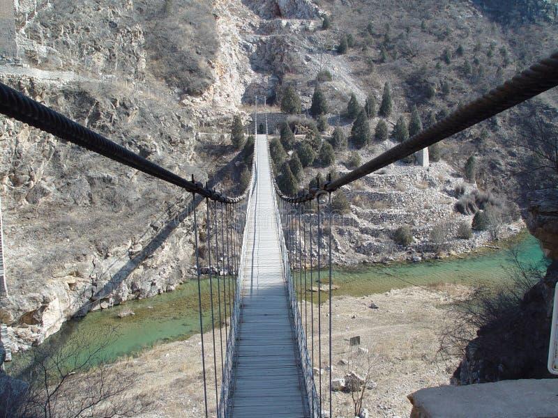 περπάτημα γεφυρών στοκ εικόνα με δικαίωμα ελεύθερης χρήσης