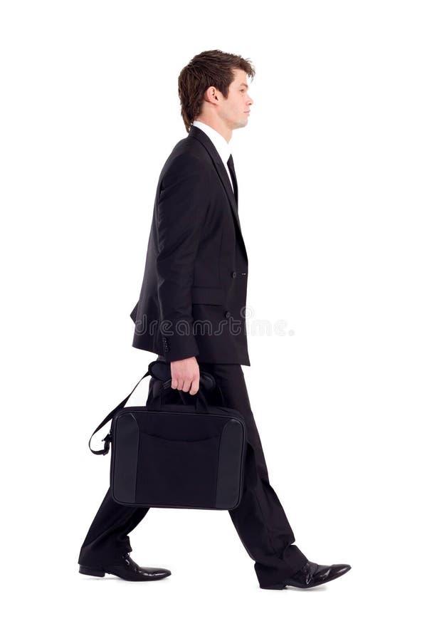 Περπάτημα επιχειρηματιών στοκ φωτογραφίες με δικαίωμα ελεύθερης χρήσης