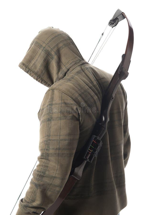Download περπάτημα κυνηγών τόξων στοκ εικόνα. εικόνα από πράσινος - 17050477