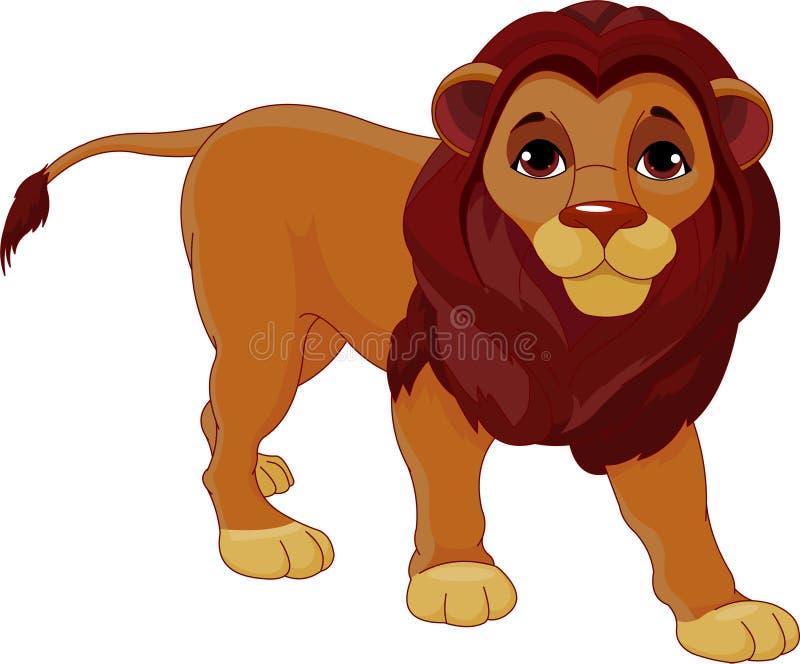 περπάτημα λιονταριών απεικόνιση αποθεμάτων