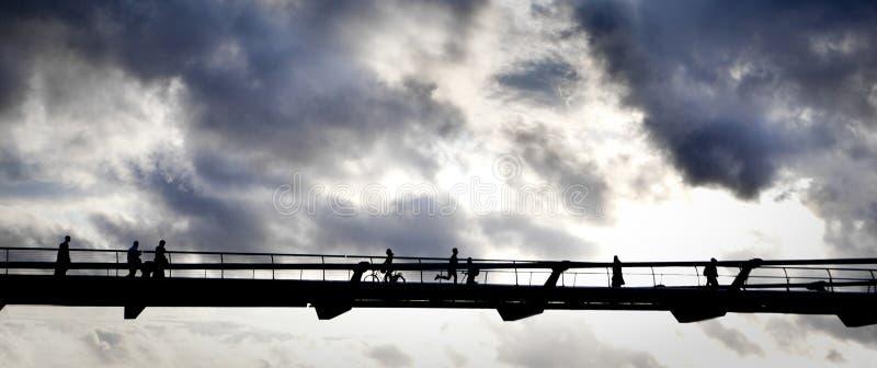 περπάτημα ουρανού Στοκ Εικόνες