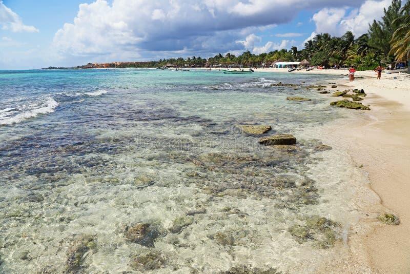 Περπάτημα Riviera Maya στοκ φωτογραφία με δικαίωμα ελεύθερης χρήσης