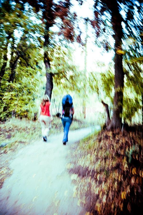 περπάτημα sedona στοκ εικόνες