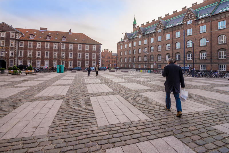 Περπατώντας άτομο στοκ φωτογραφία