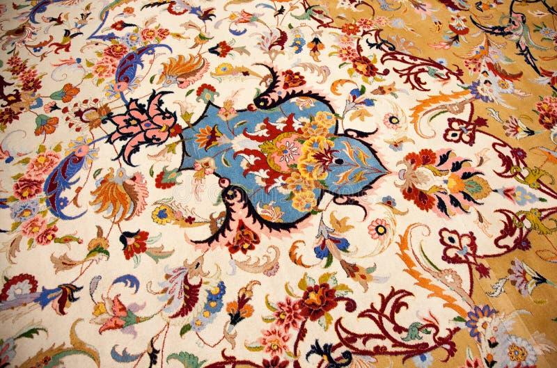 Περσικός τάπητας στοκ εικόνα με δικαίωμα ελεύθερης χρήσης