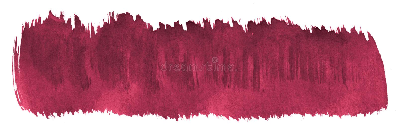 Περσικό κόκκινο αφηρημένο υπόβαθρο watercolor, λεκές, χρώμα παφλασμών, λεκές, διαζύγιο Εκλεκτής ποιότητας έργα ζωγραφικής για το  απεικόνιση αποθεμάτων