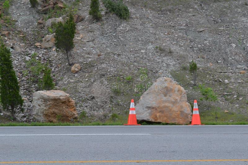 Πεσμένος βράχος στοκ εικόνα